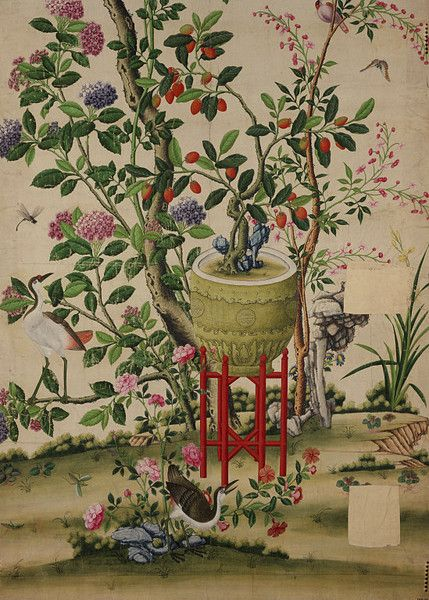 25 Best Ideas About Antique Wallpaper On Pinterest Chinese Wallpaper Powder Rooms With