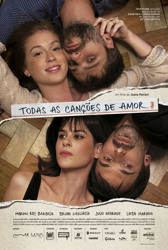 Todas As Cancoes De Amor Filme Completo Online Assistir In 2020
