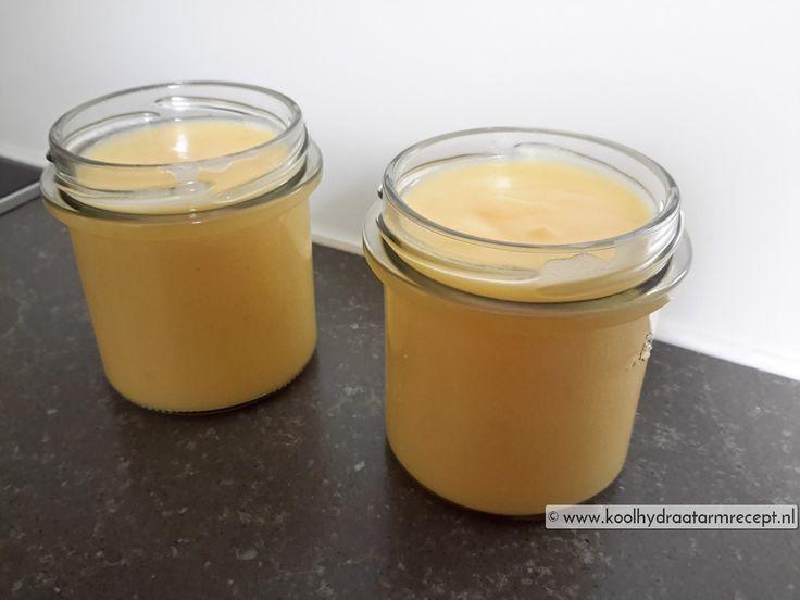 suikervrije lemon curd