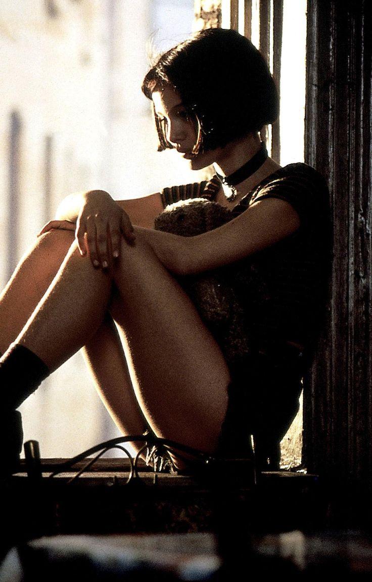 Natalie Portman in Léon by Luc Besson, 1994