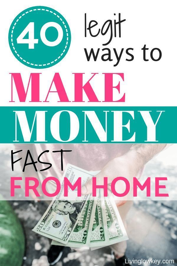 Are You Looking To Make Some Extra Money On The Side If So Check Out These 40 Legit Ways Fast From Home Ideas Will Realize