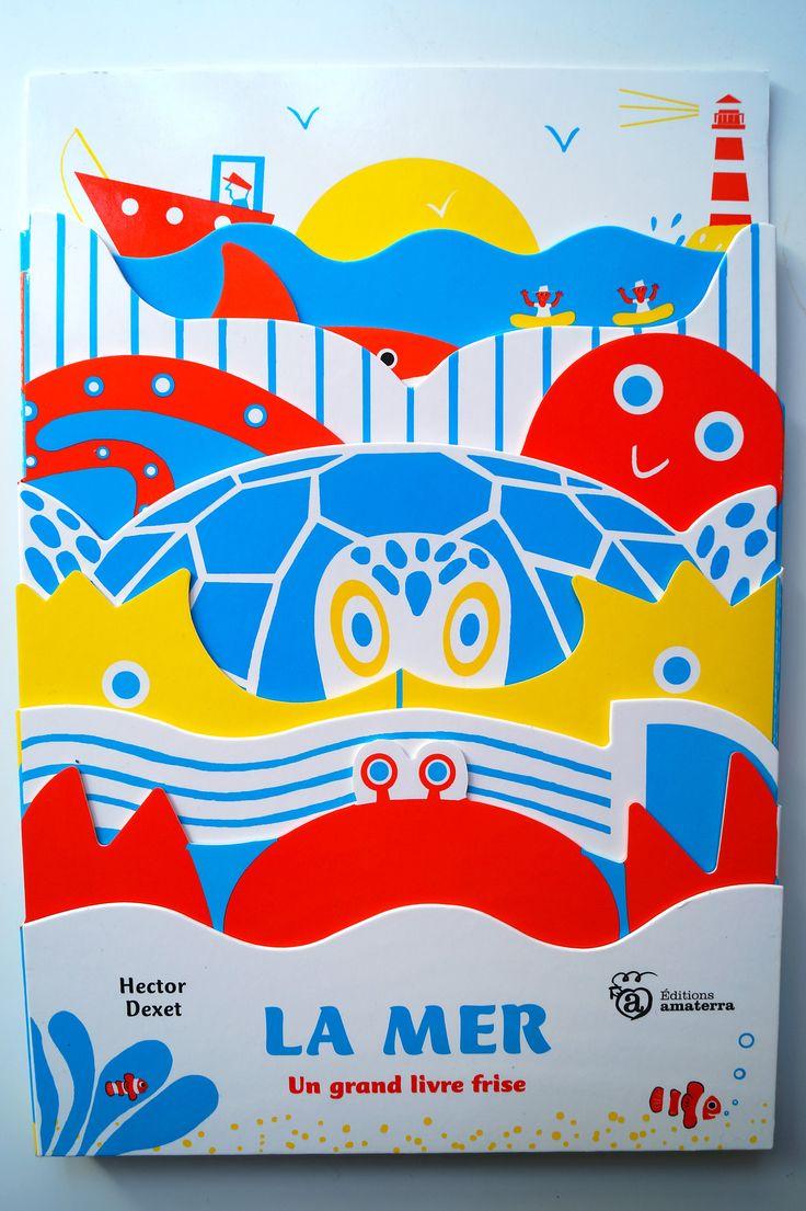 Hector dexet - La mer-leporello- editions Amaterra http://hectordexet.ultra-book.com/