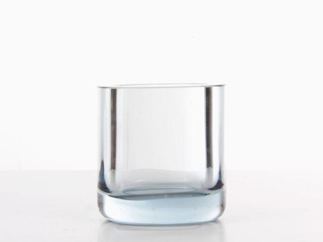Small Blue Vintage Scandinavian Glass Vase By Per Lutken For Homelgaard Blue Glass Vase Glass Vase Vase