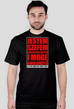 SZEF BLACK classic JUSANAWABIJACZ.cupsell.pl - original wear since 2014