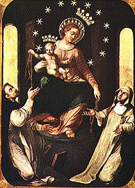 The Holy Rosary  Feast of Our Lady of the Rosary, October 7.