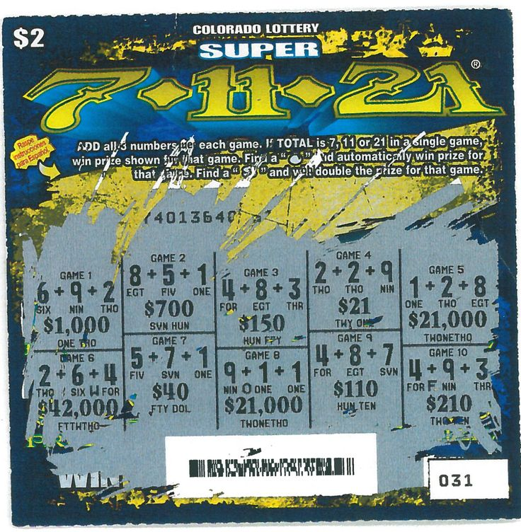 Pin By Colorado Lottery On Scratch Tickets!