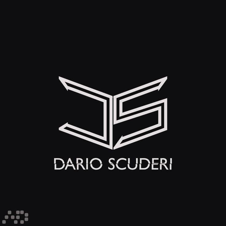"""Logo Lettermark """"Dario Scuderi"""""""