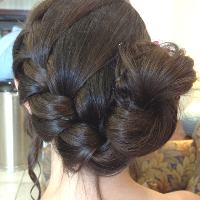 22 best Bridesmaid updo (Shannan's wedding) images on ...