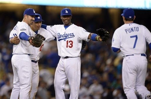 Miami Marlins vs. Dodgers de Los Angeles - Fotos - 8/25/2012 - ESPN Deportes