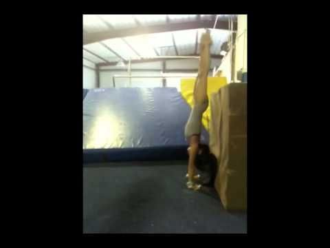 casting and cast handstands supplemental drill