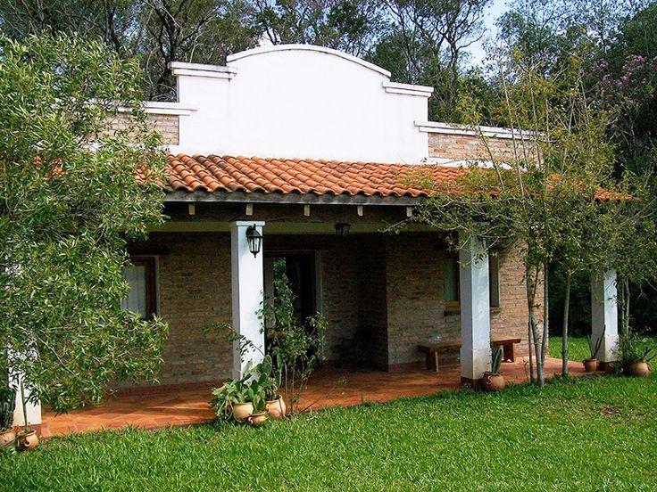 Las 25 mejores ideas sobre fachadas de casas coloniales en - Disenos de casas rurales ...