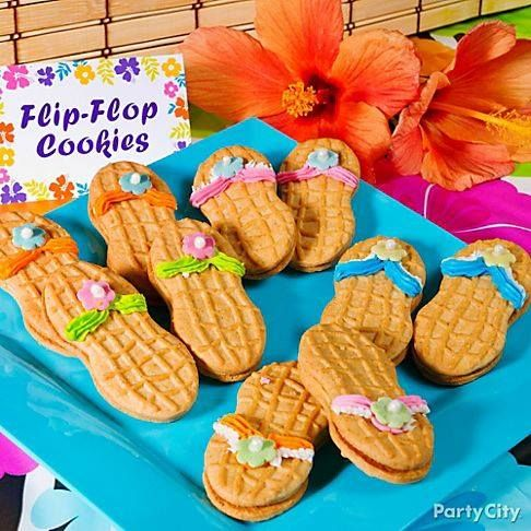 Flip Flop Cookies Using Nutter Butters