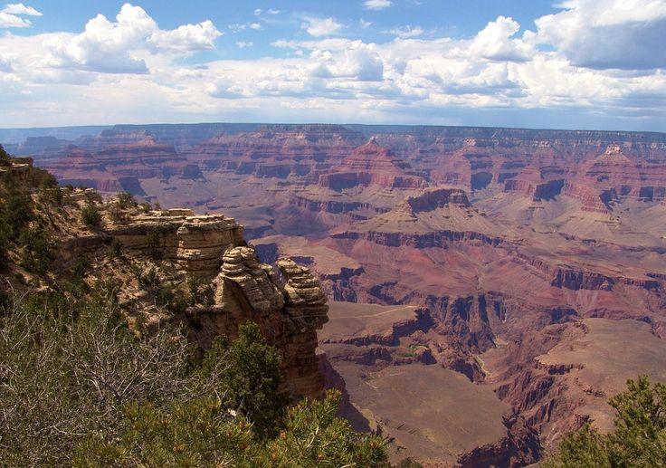 Wielki Kanion, Arizona, Krajobraz, Park Narodowy