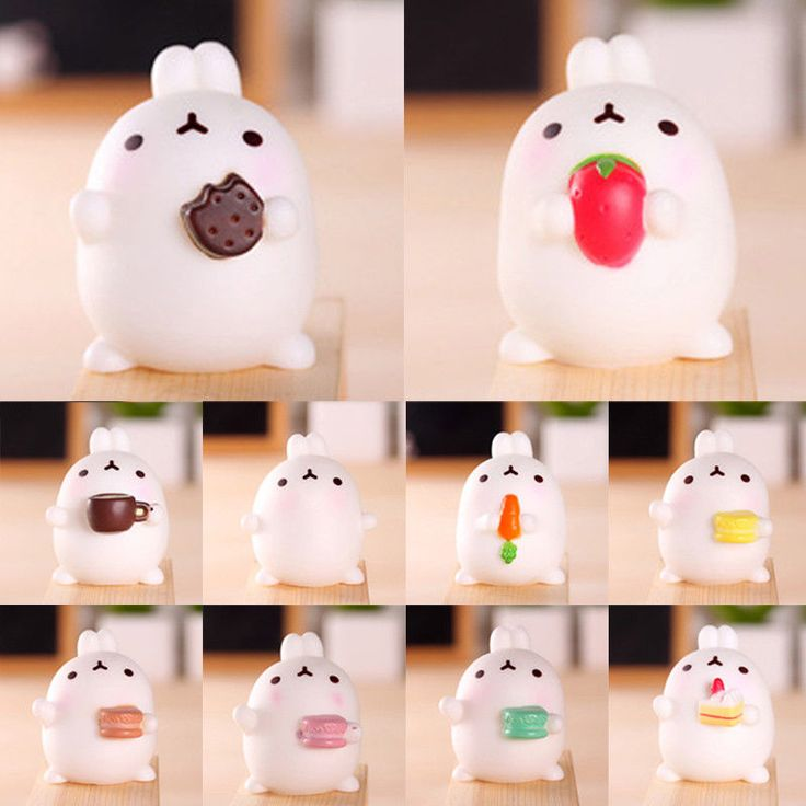 Soft Fat Animal Squishy Squeeze Slow Rising Toy Stress Reliever Gift Collection