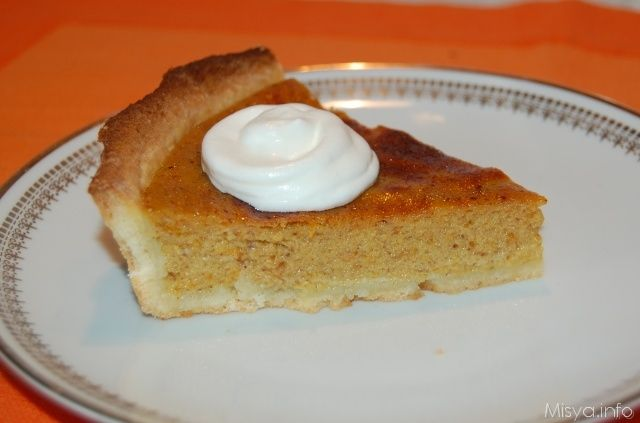 » Pumpkin pie Ricette di Misya - Ricetta Pumpkin pie di Misya