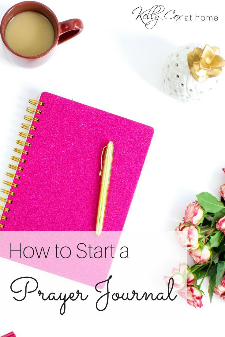 Tips on how to start a prayer journal. I've kept one since I was 15 years old and found it to be a blessing.