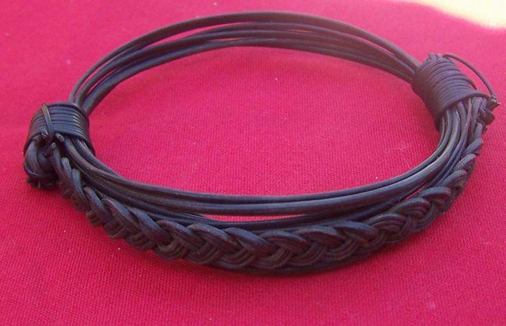 JEAR4 Unique all elephant hair braid bracelet.Diameter 3,5 Price $110 incl ship & ins