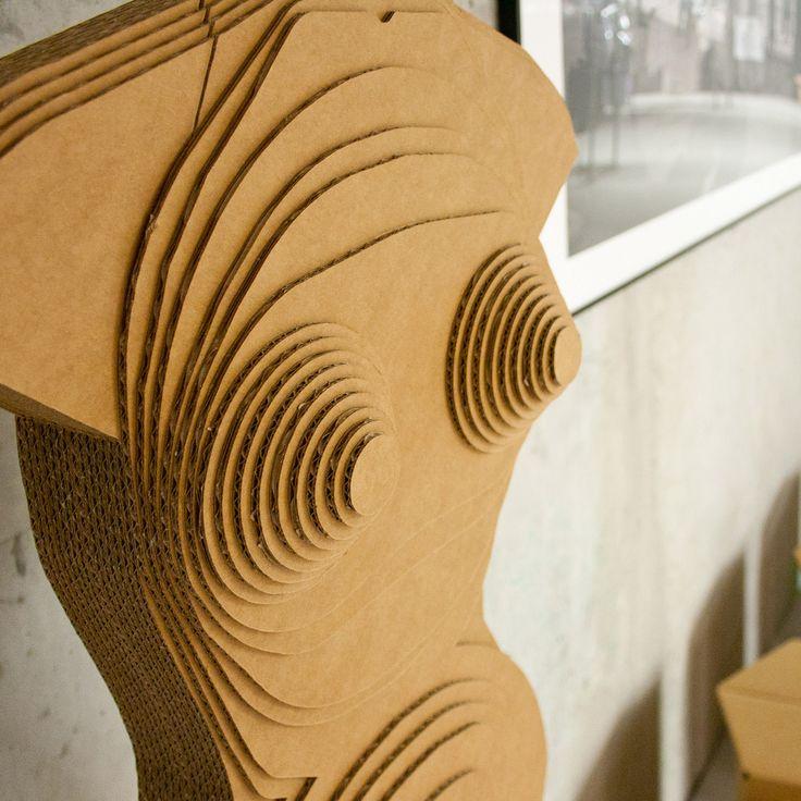 cardboard mannequin heidi stange design berlin arbeiten work pinterest berlin and design. Black Bedroom Furniture Sets. Home Design Ideas
