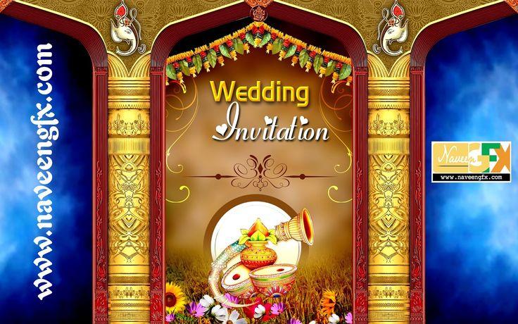 Indian Wedding Banner Psd Template Free Download Wedding