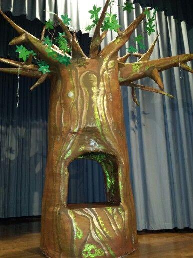 Magic Baobab Paper Mache Tree