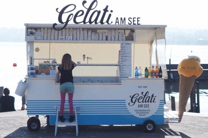 gelati am see zuerich. Hier gibt es die wahrscheinlich besten Glacés in Zürich.