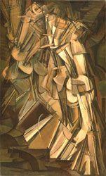 Marcel Duchamp, Nu descendant un escalier n°2, 1912