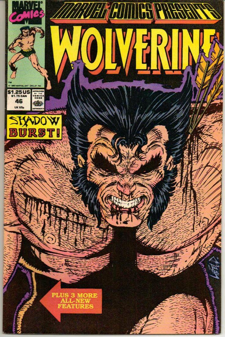 :  #comics #mind #nerds Marvel Comics Presents Wolverine No. 46 (Shadow Burst!): Marvel: Books