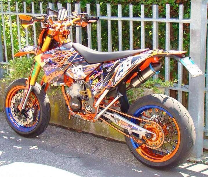 ktm motard 125 moto dirt bikes motocross e enduro motocross. Black Bedroom Furniture Sets. Home Design Ideas