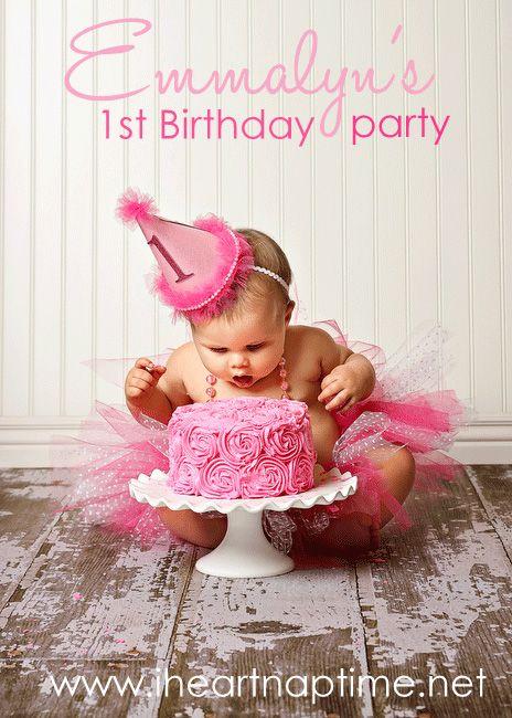 little girls 1st Birthday: Little Girls, Photo Ideas, Smash Cakes, Birthday Parties, Parties Ideas, Baby Girls, 1St Birthdays, Girls 1St Birthday, Birthday Ideas