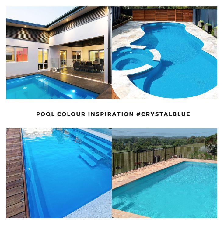Leisure Pools Smart Colour Range - Crystal Blue   #swimmingpools #leisurepools #lifeofleisure #summer #lifestyle #life