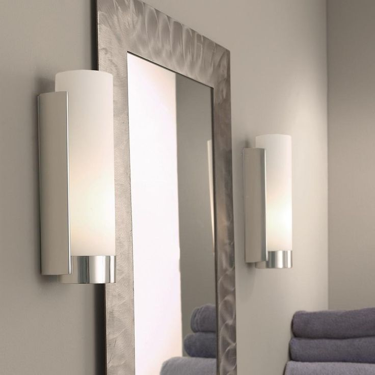 Pics Of bathroom lighting sconce vs overhead Bathroom Sconce Lighting For The Amazing One