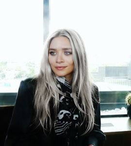 Mery-Kate Olsen's Grey Hair