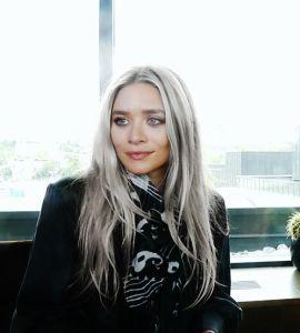 Mery-Kate Olsen's Grey Hair