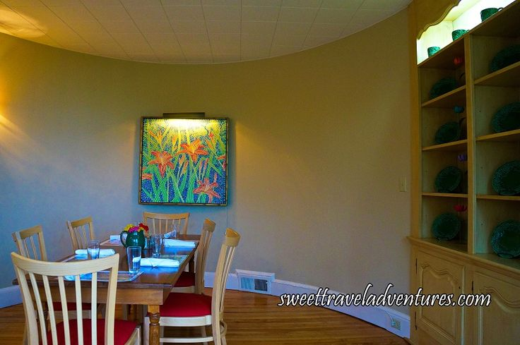 Inside the Semi-Private Room of the Kingsbrae Garden Café in St. Andrews-by-the-Sea, New Brunswick