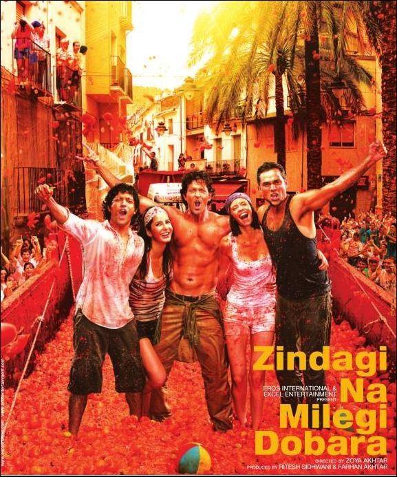 Zindagi Na Milegi Dobara or ZNMD. All time favorite movie!
