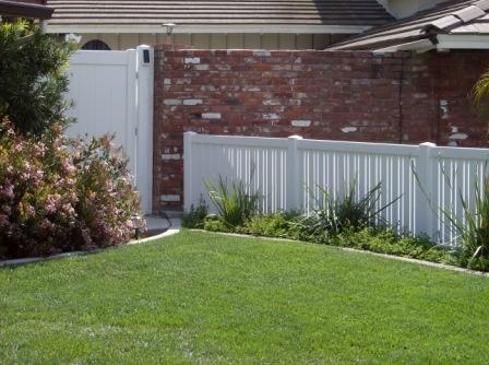 Vinyl Gate And Semi Private Vinyl Yard Fence Gates