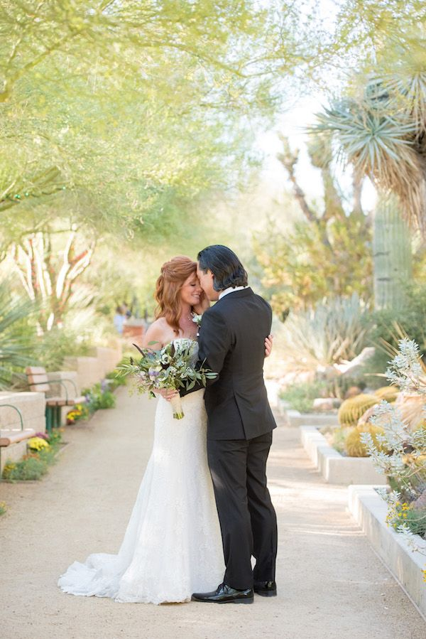 Aisle Perfect feature: desert botanical garden wedding at Springs Preserve by KMH Photography