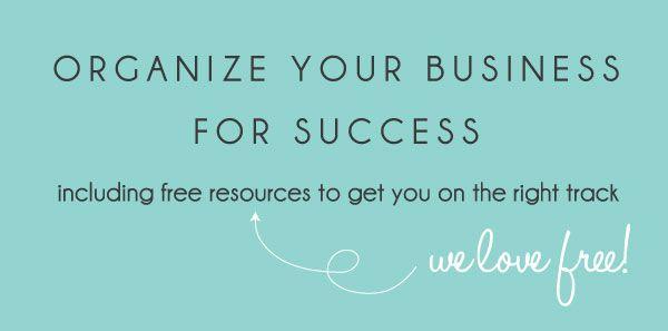 Organize Your Business for Success | Boutique By Design #BoutiqueByDesign