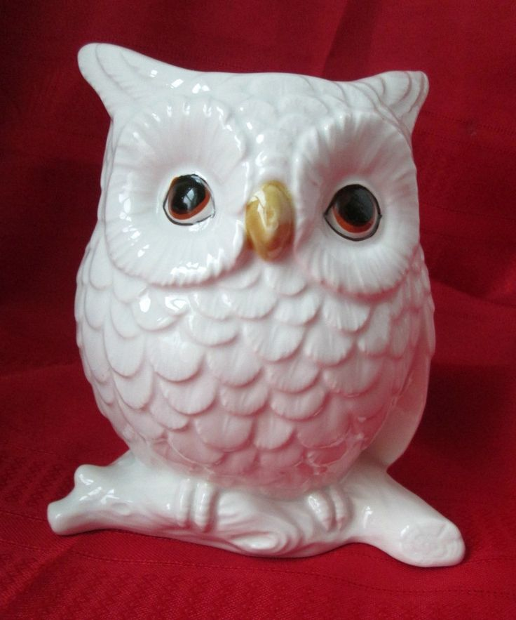 Vintage White Owl Planter Napcoware 9962 – Vintage Virtue
