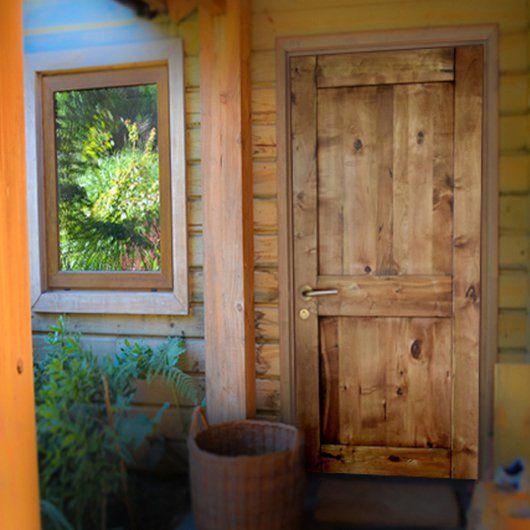 Puertas de Lenga -  Uso sustentable del bosque nativo