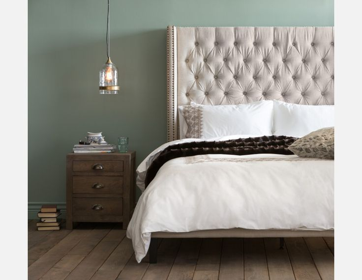VERSAILLES - King Size Bed - Linen
