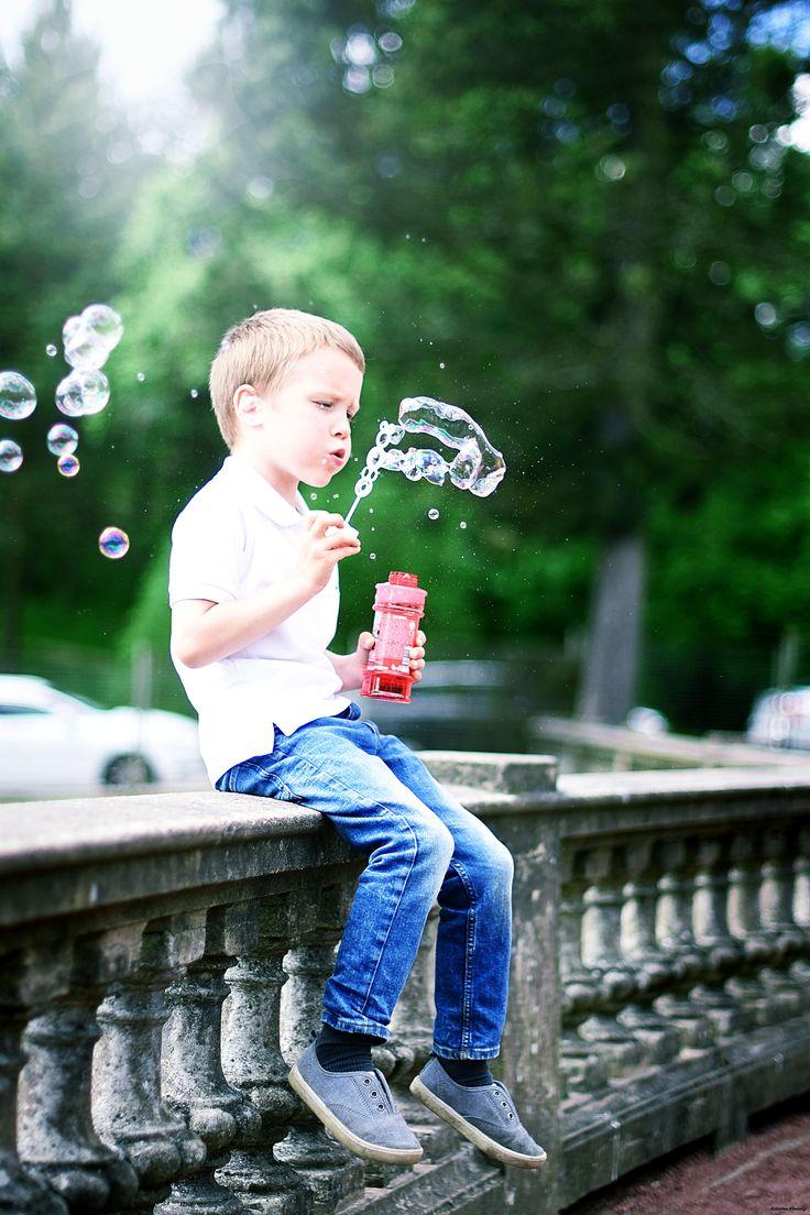 #Лето #Дети #Пузыри