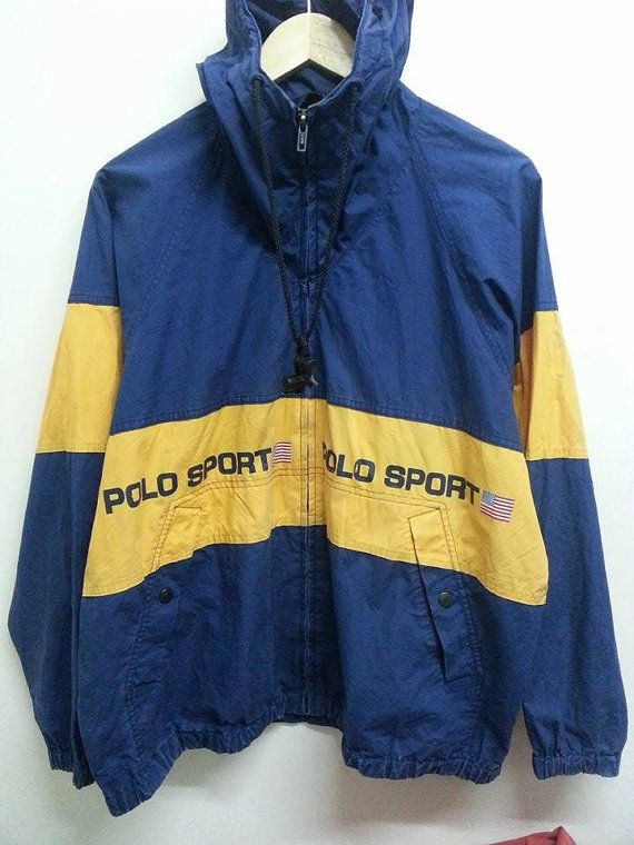 Sale Vintage 1990s Distressed Polo Sport Ralph by SuzzaneVintage