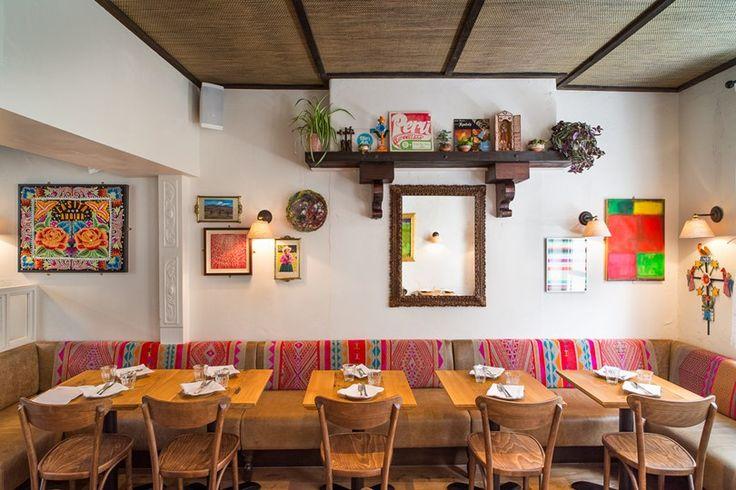 The best restaurants in Soho, Tatler: Casita Andina. Serve the best pisco sours in London. Family-run Andean restaurant. Seabass ceviche. 31 Great Windmill Street