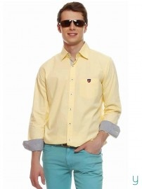 #AmericanSwan #Men Serendipity #Yellow #Shirt @YuvaStyle India