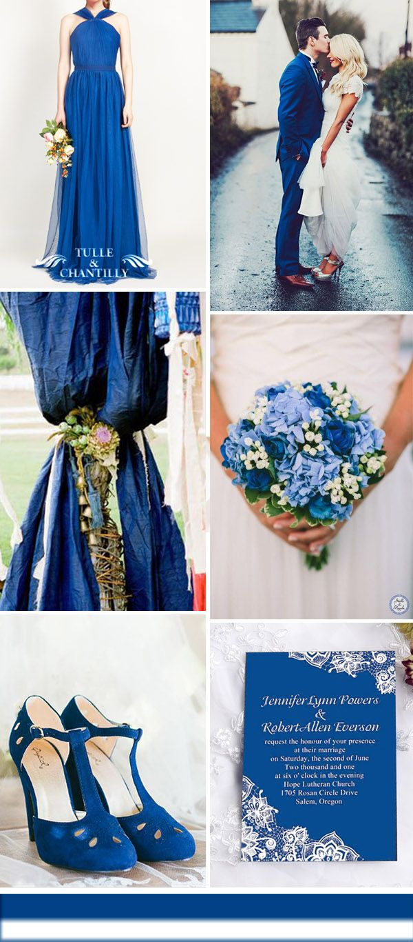 blue and white rustic vintage wedding ideas