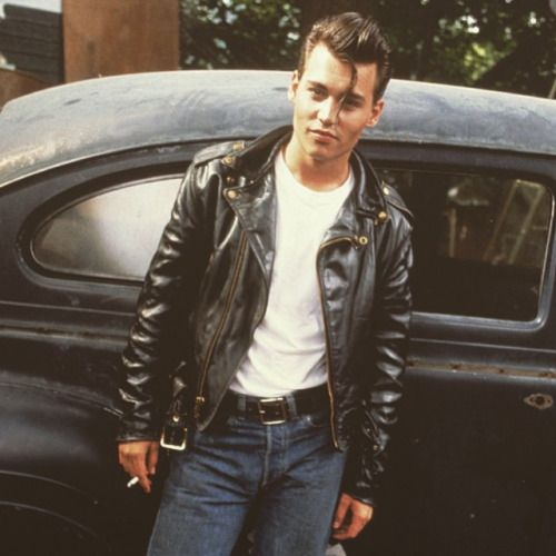 I don't know what movie this is from, but Johnny Depp does a good job of pretending to be a greaser.                                                                                                                                                      More