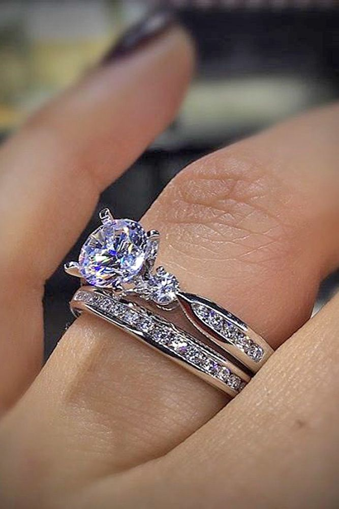 24 Most Popular Engagement Rings For Women ❤ See more: http://www.weddingforward.com/engagement-rings-for-women/ #wedding #engagement #rings #women