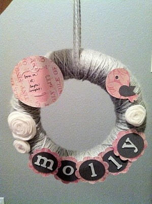 Of course change the colors but would be cute for Deegan's arrival at the hospital to put on his door.