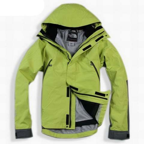 New Style North Face Triclimate Jacket Clearance Men Green T080